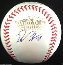 PETE KOZMA SIGNED 2013 WORLD SERIES BASEBALL ST LOUIS CARDINALS AUTOGRAPHED J4