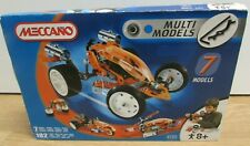 Meccano Multi Models 7 Models 182 Parts 4505 2004 Brand New