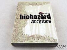 biohazard Archives Resident Evil Japanese Artbook bio hazard Japan Art Book