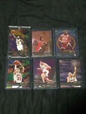 MICHAEL JORDAN , Pippen 1997/98 METAL Universe CHICAGO BULLS 📈🔥 6 Card Lot!