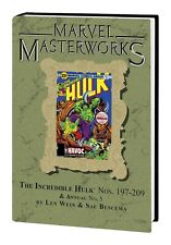 MARVEL MASTERWORKS INCREDIBLE HULK VOL #12 HARDCOVER Comics DM VARIANT #263 HC