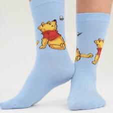 Womens Winnie The Pooh Eeyore and Piglet Novelty Socks Assorted Designs 4 8 12 12