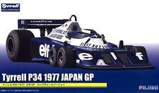 Fujimi GP-17 1/20 F1 Car Model Kit Elf Team Tyrrell P34-B Long Wheel Six-Wheeler
