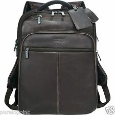Kenneth Cole® Executive Colombian Leather TSA Compu-Backpack must read noteFIRST