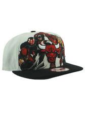 New Era NBA Chicago Bulls 9fifty Snapback Hat Marvel Heroes Adjustable White NWT