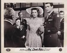 Rock Hudson Cornell Borchers in Never Say Goodbye 1956 vintage movie photo 33502