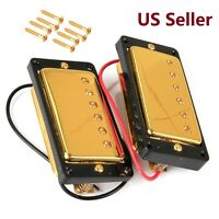 SET OF Gold Sealed Humbucker Pickup For Gibson Les Paul LP EPIPHONE Guitar