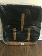 DSW Black Canvas Backpack  NEW