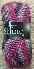 King Cole 100grm Shine DK 1592 Heather