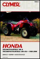 HONDA FOURTRAX 300 TRX300 SERVICE REPAIR MANUAL TRX300FW TRX FW 2WD 4WD 4X4 ATV