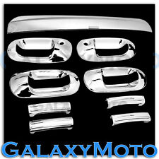 03-13 Ford Expedition Chrome 4 Door Handle W/PSG KH+Top Liftgate Tailgate Cover