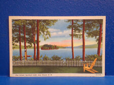 1955 Spofford Lake, KEENE, NH/Postcard