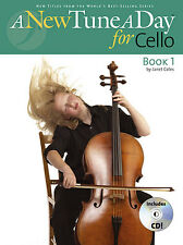 A New Tune A Day for CELLO Music Lesson Book 1 + CD NEW