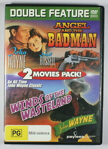 Angel and The Badman / Winds Of The Wasteland DVD FREE POST