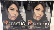 Clairol Perfect 10 By Nice 'N Easy Hair Color 2 Black (Pack of 2)