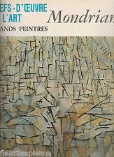 Chefs-d'oeuvre de l'art - N° 47 - 1967 - MONDRIAN - Grands Peintres