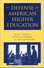 In Defense of American Higher Education, , Very Good Book