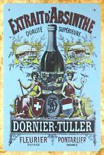 Absinthe Dornier-Tuller alcoholic beverage tin sign cabin decor