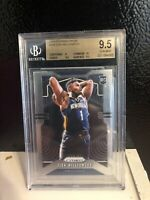 2019 Panini Prizm Zion Williamson ROOKIE Base RC #248 BGS 9.5 GEM MINT