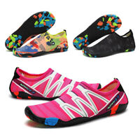 Womens Mens Swim Beach Sandals Slippers Outdoor Skin Sports Flats Water Shoes