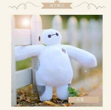 Hot! 20Cm New Giant Big Hero 6 White Baymax Robot Baymax Stuffed Toy Plush Doll