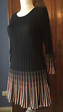 Sonia Rykiel dress size 8 wool silk as new 8