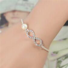 Bracelet - Infini Premium Perle - Argenté/Blanc - L&D