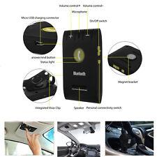 Bluetooth Auto KFZ Freisprecheinrichtung Freisprechanlage für 2 Smartphone Handy