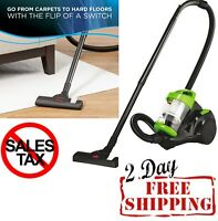 Bagless Vacuum Cleaner Carpet Car Clean Floor Fast Cleaning Portable Size Green