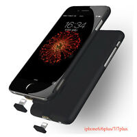 Ultra Thin External Power Bank Battery Charger Phone Case Cover For iPhone 7 6S