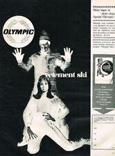 L- Publicité Advertising 1969 Les Vetements de ski Olympic