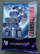 Wendy's Kids Meal Toys Transformers Soundwave New in Bag