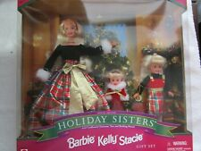 Holiday Sisters/ Barbie, Kelly, Stacie Gift Set 1998  FACTORY SEALED