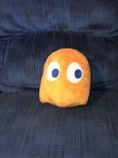 "Namco Pac-Man Clyde Orange Ghost Plush Stuffed Animal Toy 7"""