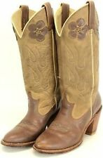 Women's Floral Leather Boots
