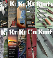 Australian Knife Magazine, 10 magazines, Issues 1-10