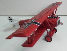 Fokker DVII 1918 bi-plane scale model 1:30 King & Country Red
