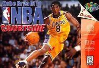 ✅ Kobe Bryant in NBA Courtside Nintendo 64 N64 Video Game Super Fun ✅