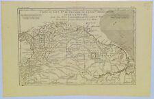 c.1760 Genuine Antique map northern South America. Amazon. Panama. Bonne