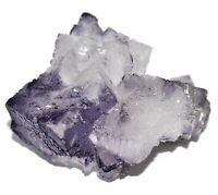 Purple Fluorite Crystal Cluster 50 grams reiki crystals minerals Ref F.PF2