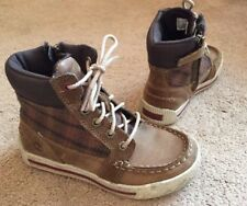 Boys Genuine Timberland Earth keepers Suede Boots Tan Brown Uk Kids 11 VGC !