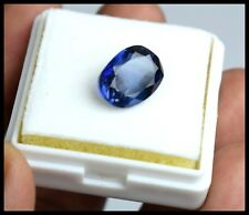 7.45Ct/13mm VS Clarity Blue Sapphire Natural Oval IGL Certified Loose Gemstone