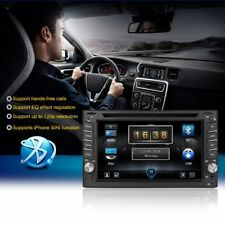 "6.2"" 2DIN Car Stereo DVD CD MP5 Player iPhone Carplay FM Radio USB AUX CarPlay"