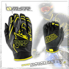 GUANTO CROSS ENDURO MSR METAL MULISHA SCOUT NERO GIALLO TAGLIA L