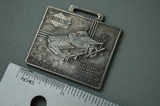 BLAW KNOX ROAD ASPHALT PAVER Pocket Watch Key Fob vintage heavy equipment crew