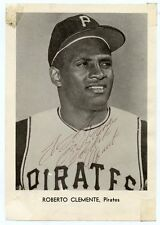 ROBERTO CLEMENTE  Signed 1960's Jay Pub  Picture Pack Photo Pirates HOF KOA Auth