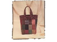 Country Tote quilt pattern by Kimie Leavitt of Indygo Junction