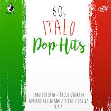 CD 60s Italo Pop Hits von Various Artists 2CDs