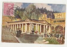 Marienbad Kreuzbrunnen 1911 Tuck Oilette 700 Postcard Czechoslovakia 751b