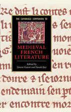 El compañero de Cambridge a la literatura medieval francesa (Cambridge compañeros a L